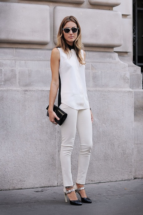 Today S Fashion Find White On White Depuis Toujours